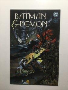 Batman And Demon A Tragedy Near Mint Nm Dc Comics