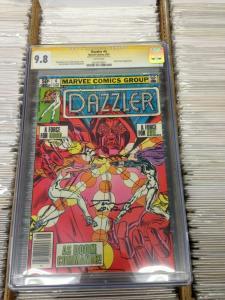 Dazzler 4 CGC 9.8 SS (June 1981)