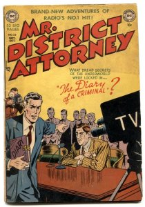 Mr. District Attorney #23 1951-DC Golden Age comic VG-