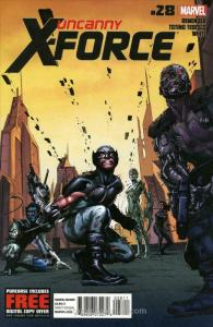 Uncanny X-Force #28 VF/NM; Marvel | save on shipping - details inside
