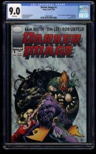 Darker Image #1 CGC VF/NM 9.0 White Pages 1st Maxx! Bloodwulf!  1st Deathblow!