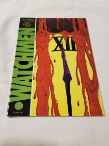 Watchmen 12 VF/NM cover by Dave Gibbons