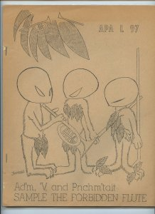 APA-L #97 – Fanzine from the Los Angeles Science Fantasy Society (Aug. 1966)