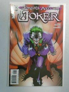 Joker's Asylum The Joker #1 8.0 VF (2008)