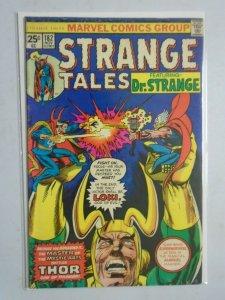 Strange Tales #182 featuring Dr. Strange vs. Thor 4.0 VG (1975)