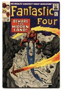 FANTASTIC FOUR #47 1966-MARVEL COMICS-JACK KIRBY-INHUMANS-HIGH GRADE