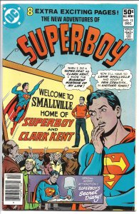 New Adventures of Superboy #12 December 1980 (VF)
