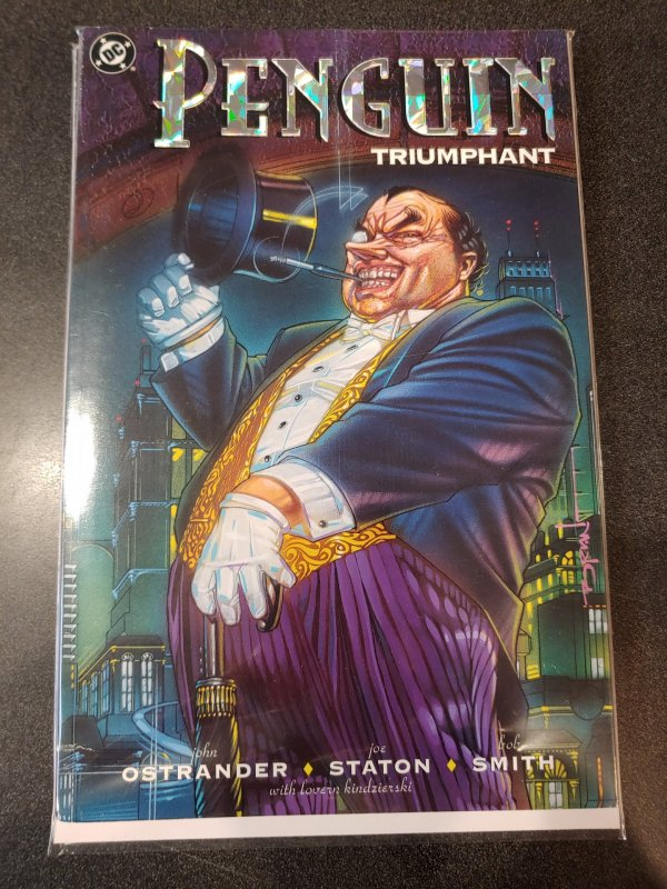Batman Penguin Triumphant DC Graphic Novel Robin Dark Knight Gotham City