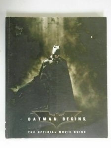Batman Begins The Official Movie Guide SC 4.0 VG (2005 1st Print TimeInc)
