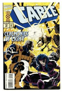 CABLE #15 comic book -1st appearance of MARROW 1994