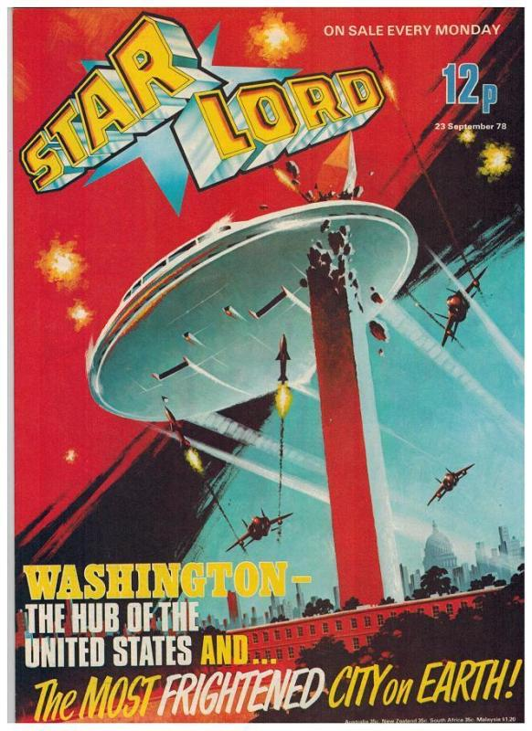 STAR LORD (BRITISH WEEKLY) 20 ( 9/30/78) VF-NM