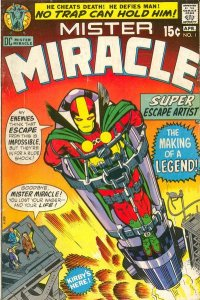 Mister Miracle #1 (ungraded) stock photo. ID #001