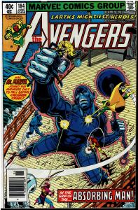 Avengers #184, 8.5 or Better - vs Absorbing Man