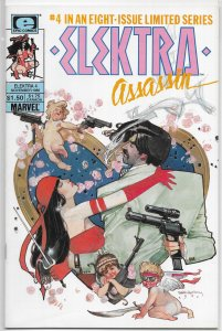 Elektra  : Assassin   #4 of 8 FN