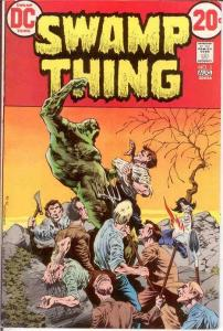 SWAMP THING 5 VF  August 1973 COMICS BOOK