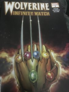 Marvel Wolverine #1 Infinity Watch Mint Hot