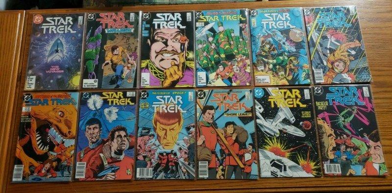 Star Trek 1-56 + Annual 1-3 Complete Set Run! ~ NEAR MINT NM ~ 1984 DC Comics