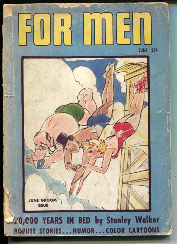 For Men 1938-Country Press-CC Beck cover & interior art-Captain Marvel-FR