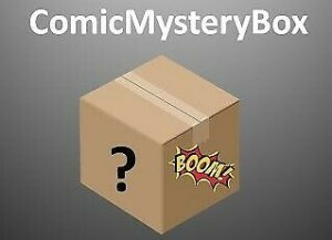 9.4-9.8 Graded comic Mystery Comic Box with Bronze SPIDERMAN INCLUDED