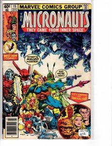 Micronauts (1979) 15  Fine+ (6.5)