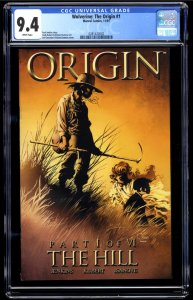 Wolverine: The Origin #1 CGC NM 9.4 White Pages