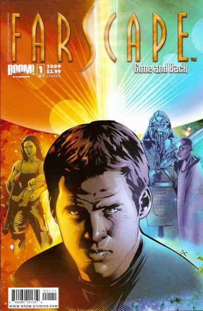 Farscape: Gone and Back #1B FN; Boom! | save on shipping - details inside