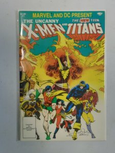 Marvel and DC Present X-Men and the Teen Titans #1 5.5 FN- (1982)