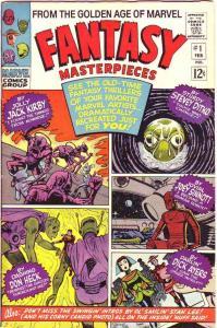Fantasy Masterpieces #1 (Feb-66) FN/VF Mid-High-Grade