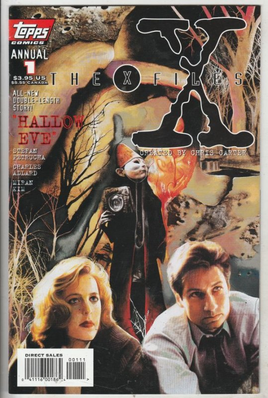 X-Files Annual, The #1 (Aug-95) NM Super-High-Grade Scully and Mulder