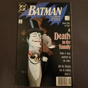 BATMAN #429 (DC,1/1989) VERY FINE Death in the Family pt 4
