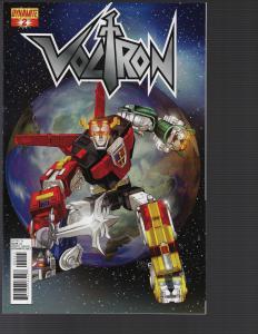 Voltron #2 (Dynamite, 2011)