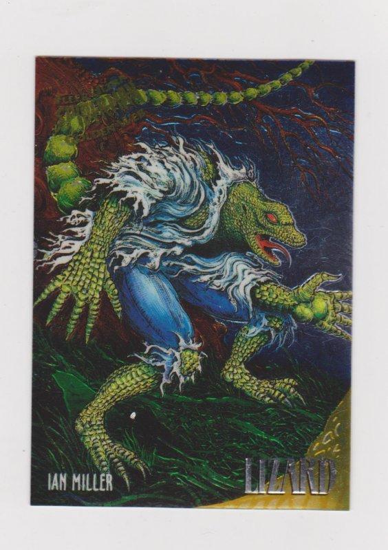1995 Fleer Ultra Spider-Man-Golden Web #5 The Lizard