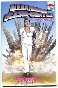 Alexandria Ocasio-Cortez & Freshman Force #1-2nd print variant