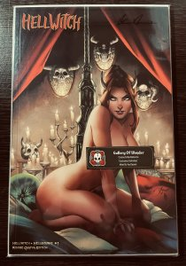 Hellwitch Hellbourne #1 RISQUE GAATHA EDITION SIGNED PULIDO RARE LTD 150 NM+