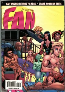 OVERSTREET'S FAN-4/1997-COMIC-TOY-MOVIE-PRICING INFO-JIMMY PALMIOTTI COVER