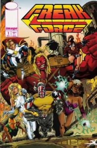Freak Force (1993 series) #1, VF+ (Stock photo)