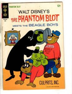 Walt Disney's Phantom Blot # 3 VF Gold Key Silver Age Comic Book Beagle Boys JL3