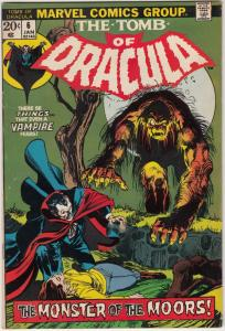 Tomb of Dracula #6 (Jan-73) VF+ High-Grade Dracula