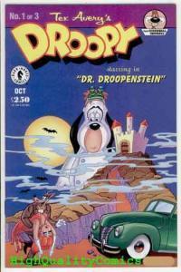 DROOPY #1, VF/NM, Tex Avery, Screwball Squirel, 1995, Cartoon