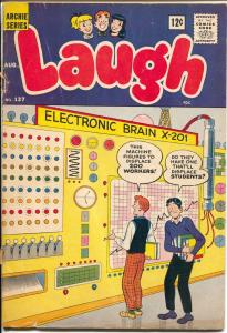 Laugh #137 1962-Archie-Betty-Veronica-Katy Keene-The Fly-Fly Girl-G