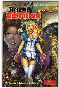 GRIMM FAIRY TALES BEYOND WONDERLAND 0, VF+, Ebas, 2008, Good version, Ruffino