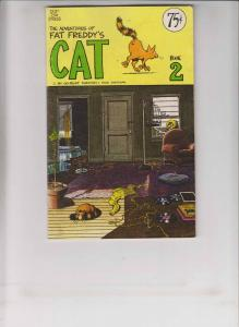 Adventures of Fat Freddy's Cat #2 FN (3rd) print gilbert shelton freak brothers