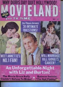 Movieland And TV Time-Grace Kelly-Sally Field-Heddy Lamarr-May-1966