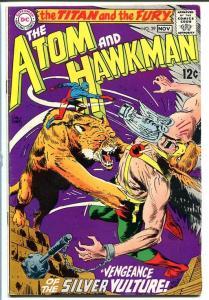 ATOM AND HAWKMAN #39 1968-DC COMICS-Joe Kubert art! FN-