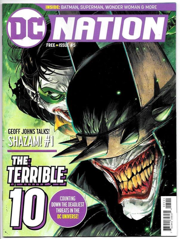 DC Nation #5 Batman Who Laughs (DC, 2018) VF/NM