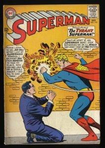 Superman #172 VG 4.0