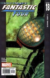 Ultimate Fantastic Four #18, VF (Stock photo)