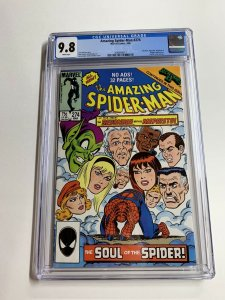 Amazing Spider-man 274 Cgc 9.8 White Pages Marvel Copper Age
