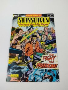 Starslayer #9 VF first comics - grimjack illustrations pre-dates starslayer 10