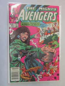 The Mighty Avengers #241 Newsstand 8.0 VF (1984)